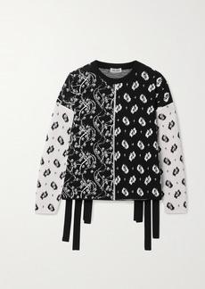 Kenzo Patchwork Jacquard Sweater