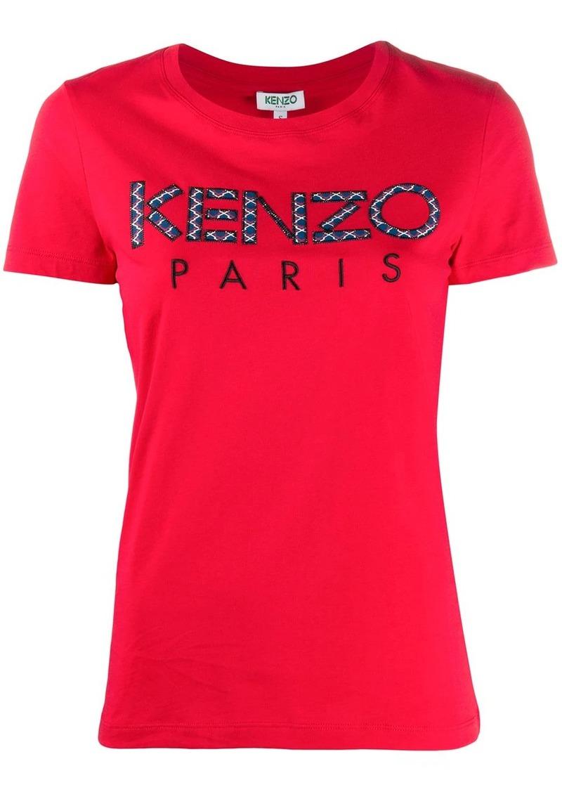Kenzo patchwork logo crewneck T-shirt