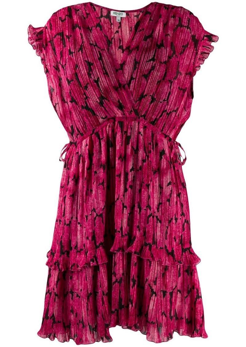 Kenzo Peonie mini dress