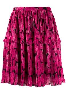 Kenzo Peonie pleated skirt
