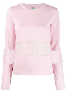 Kenzo perforated logo T-shirt