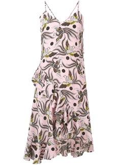 Kenzo phoenix print dress