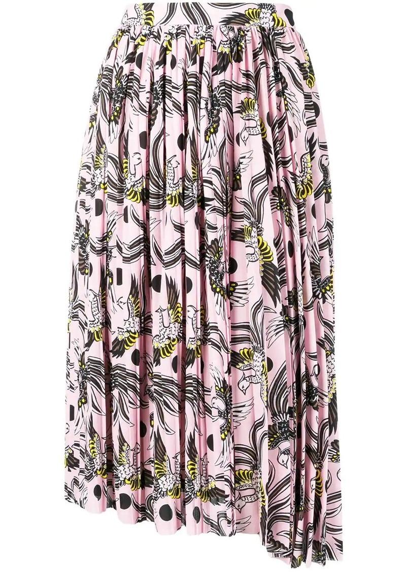 Kenzo phoenix print skirt