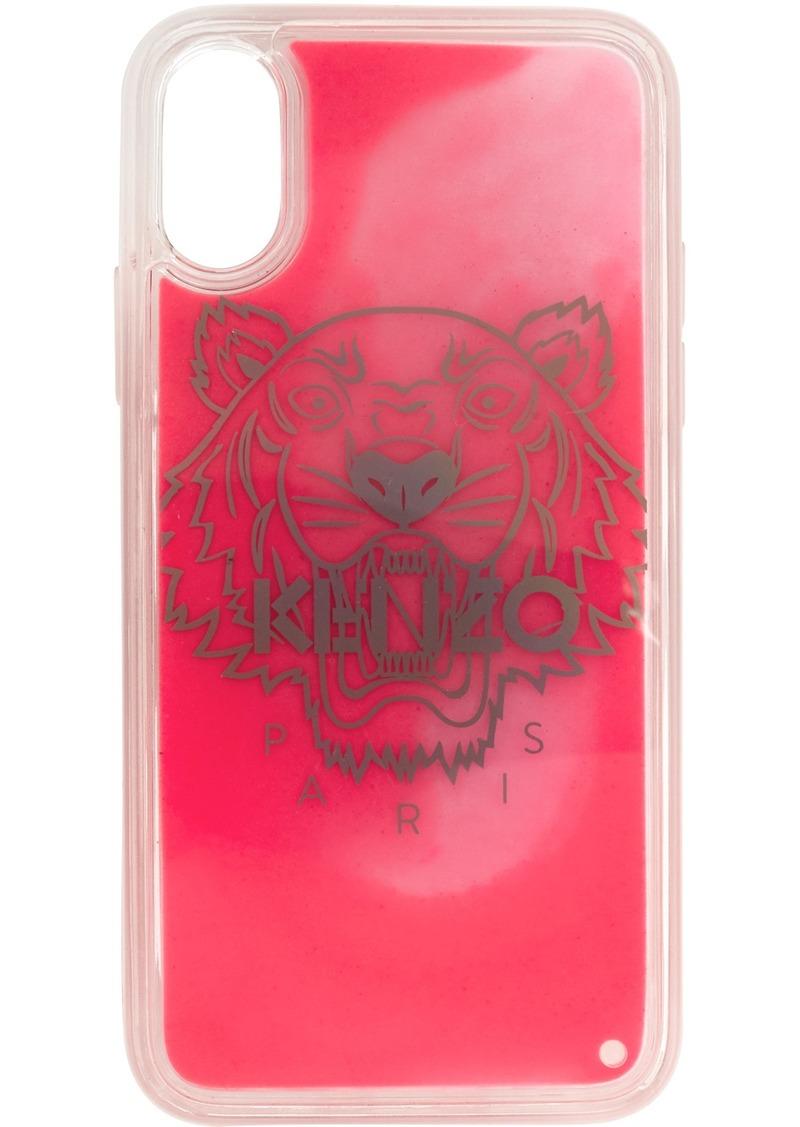 Kenzo Pink Glow-In-The-Dark iPhone X/XS Case