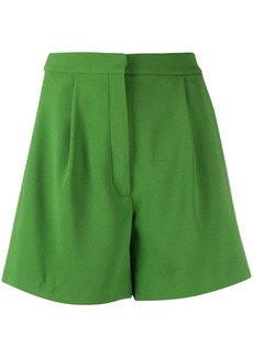 Kenzo pleated A-line shorts