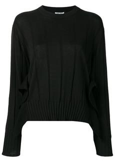 Kenzo pleated knit jumper