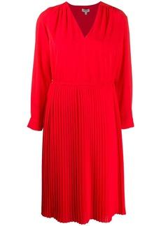 Kenzo pleated midi dress