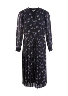 Kenzo Pleated midi-dress