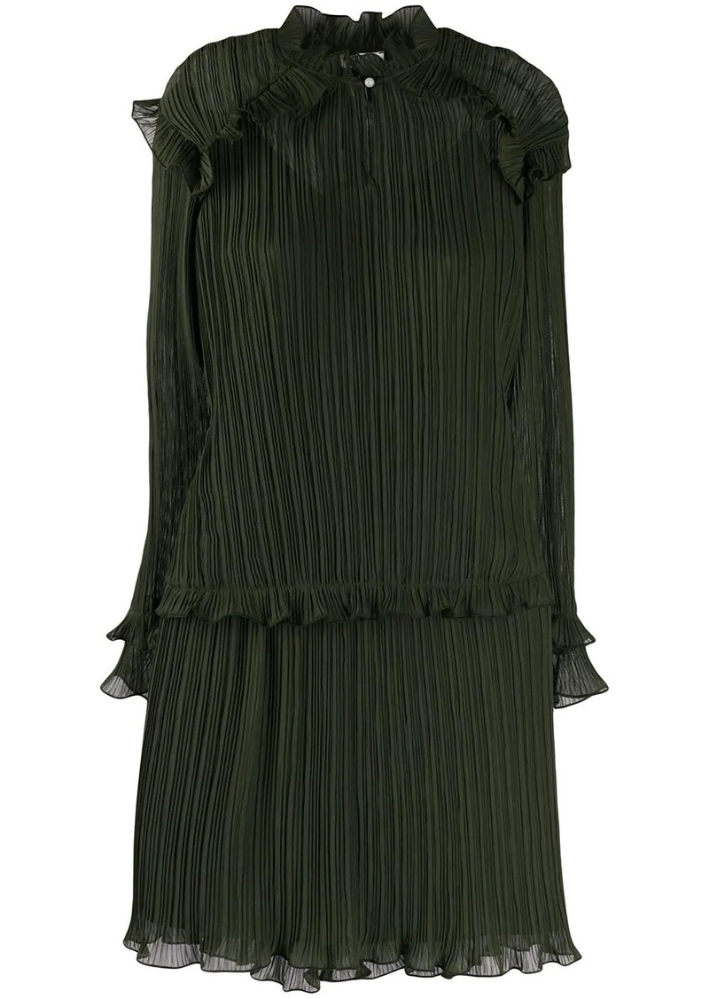 Kenzo pleated short dress