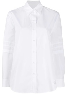 Kenzo pleated sleeve shirt