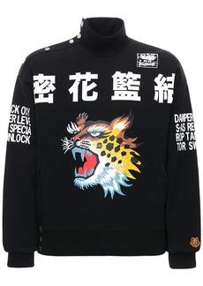 Kenzo Printed Brushed Molleton Sweatshirt