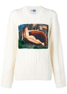 Kenzo printed knitted jumper