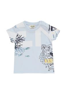 Kenzo Printed Organic Cotton Jersey T-shirt