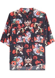 Kenzo Printed Silk Shirt
