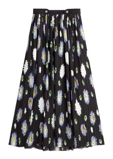 Kenzo Printed Skirt with Pleats