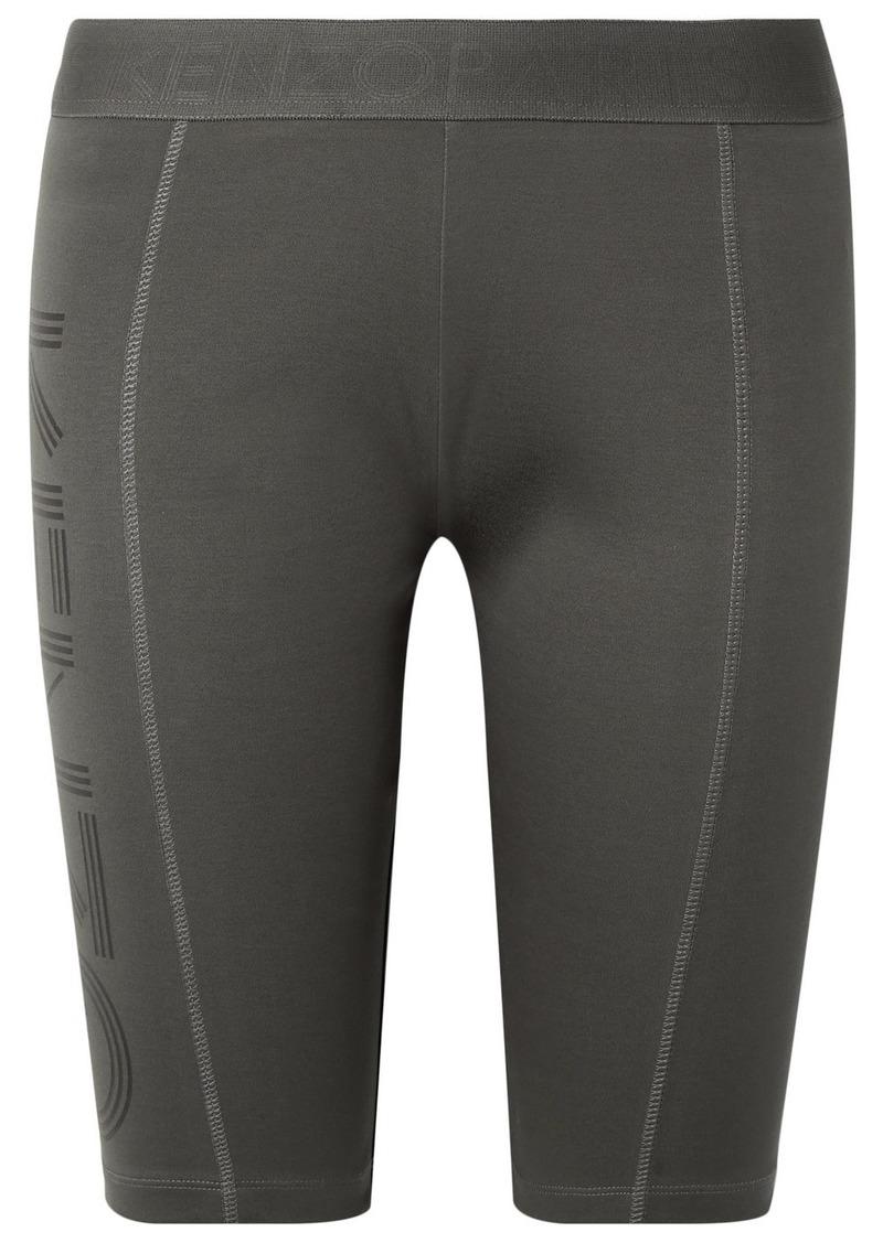Kenzo Printed Stretch-cotton Shorts