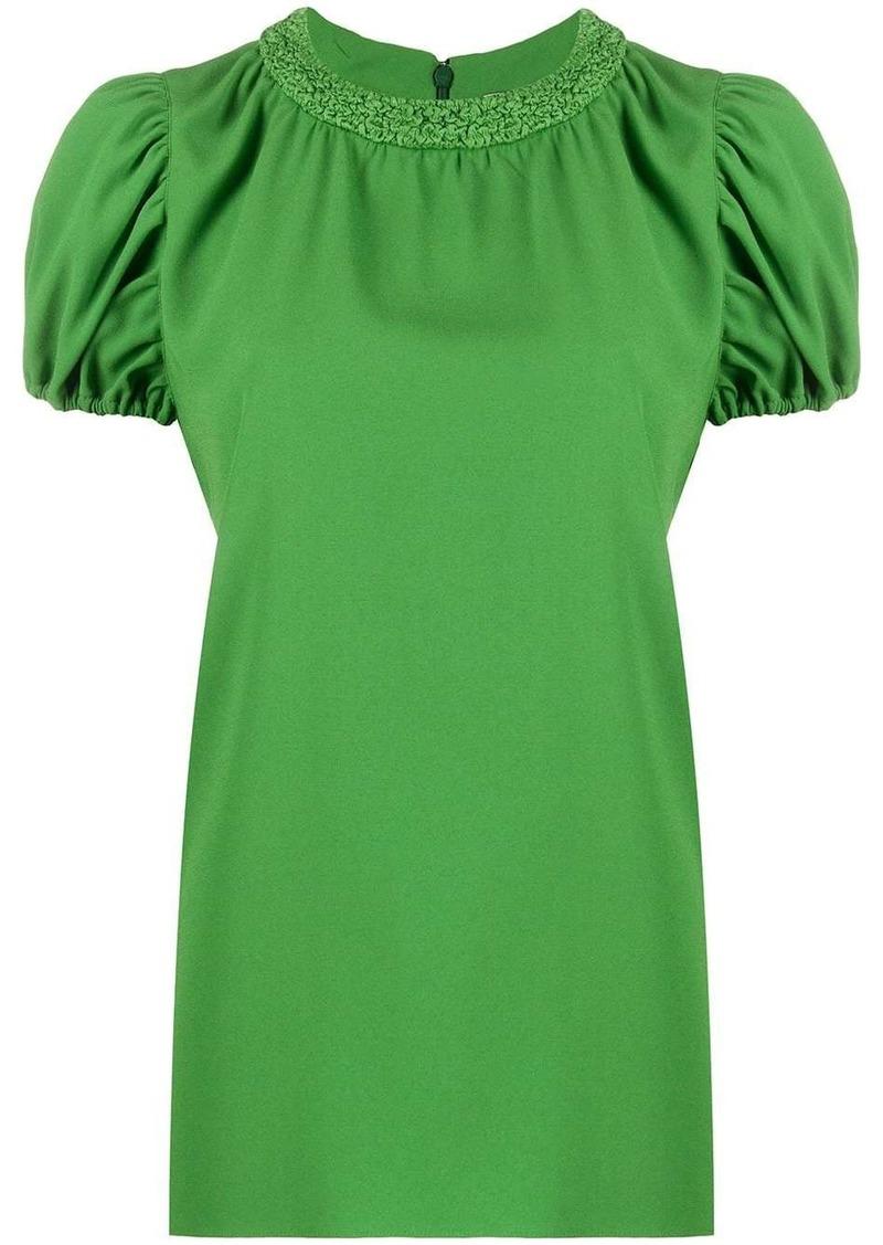 Kenzo puff-sleeve blouse