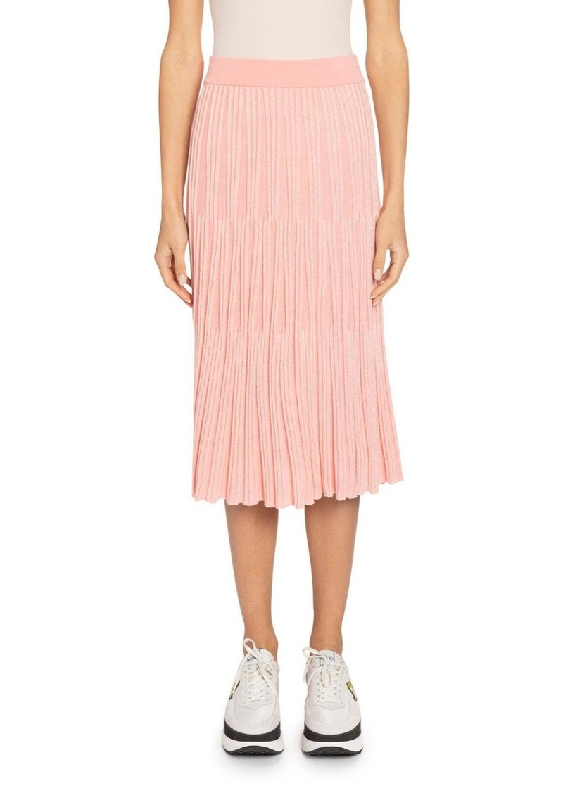Kenzo Pull-On Knit Midi Skirt