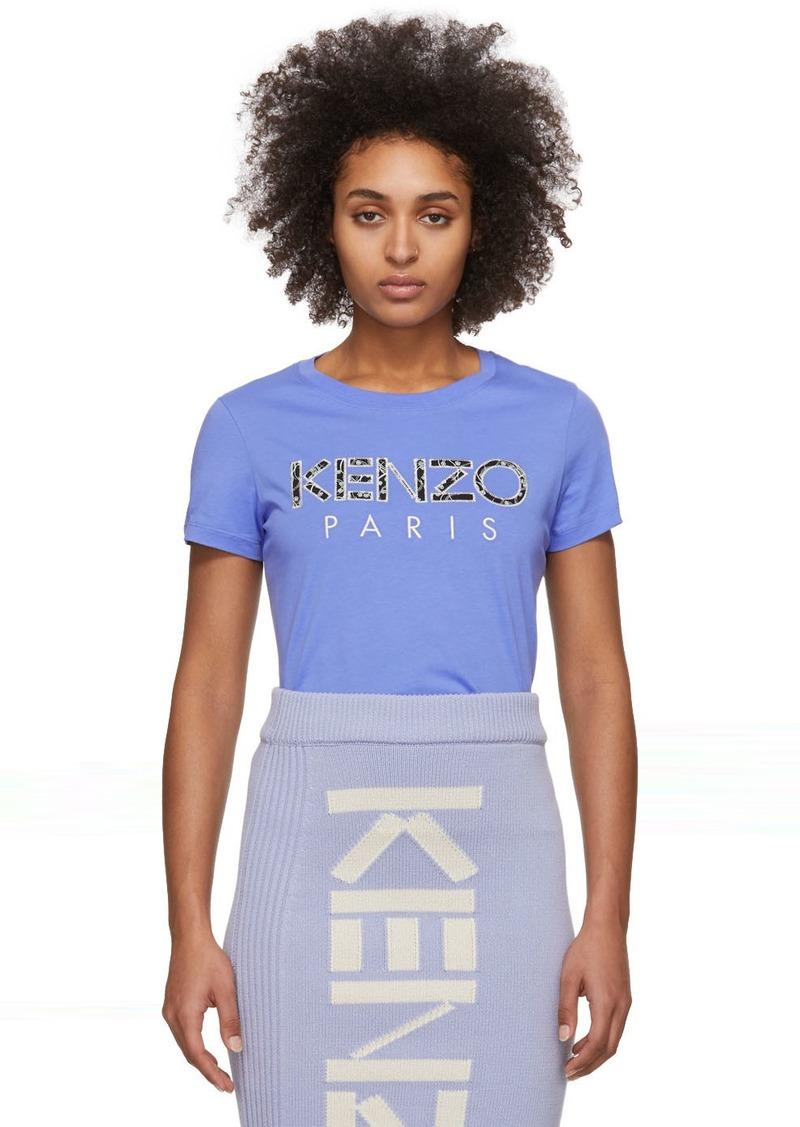 Kenzo Purple Classic Ikat T-Shirt