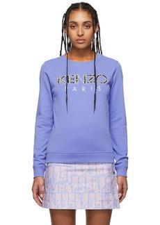 Kenzo Purple Logo Sweatshirt