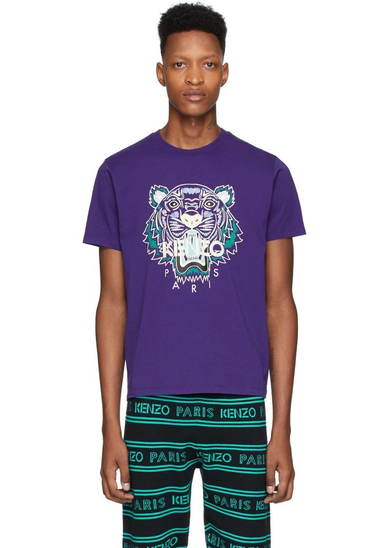 Kenzo Purple Tiger T-Shirt
