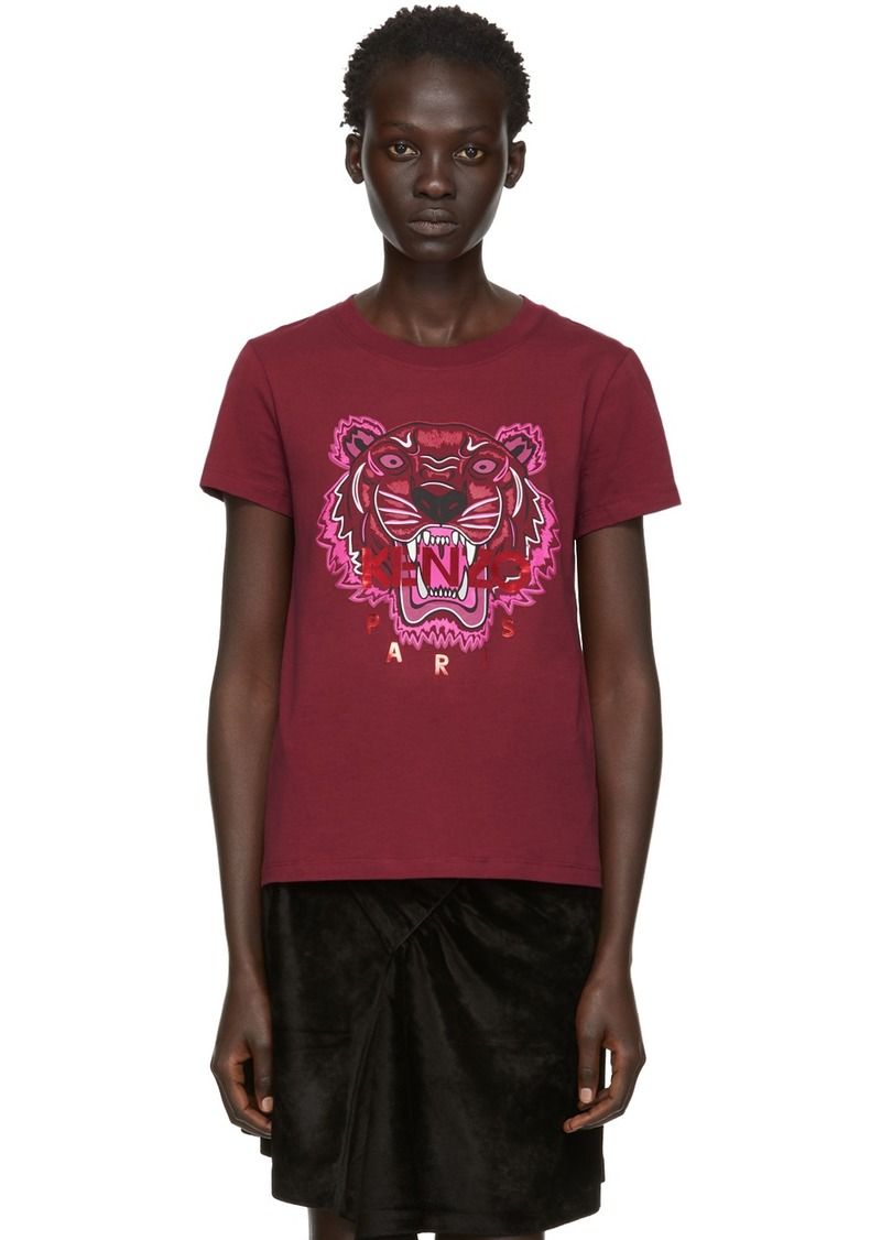 Kenzo Red Limited Edition Holiday Tiger T-Shirt