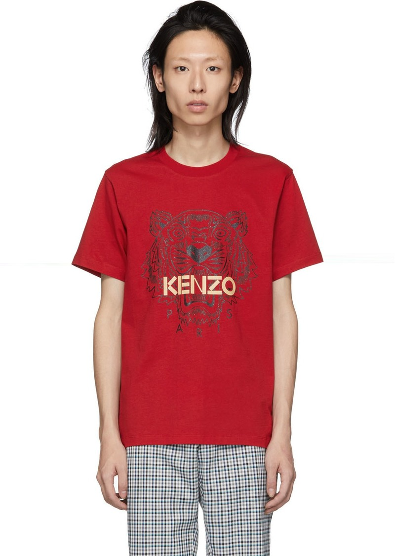 Kenzo Red Tiger T-Shirt