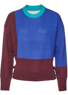 Kenzo Reversible Wool Pullover with Cashmere