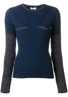 Kenzo ribbed fitted top