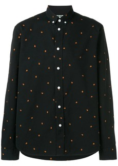 Kenzo rose-embroidered shirt