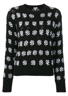 Kenzo rose pattern jumper