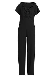 Kenzo Ruffle Collar Jumpsuit
