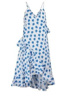 Kenzo Ruffled floral print dress