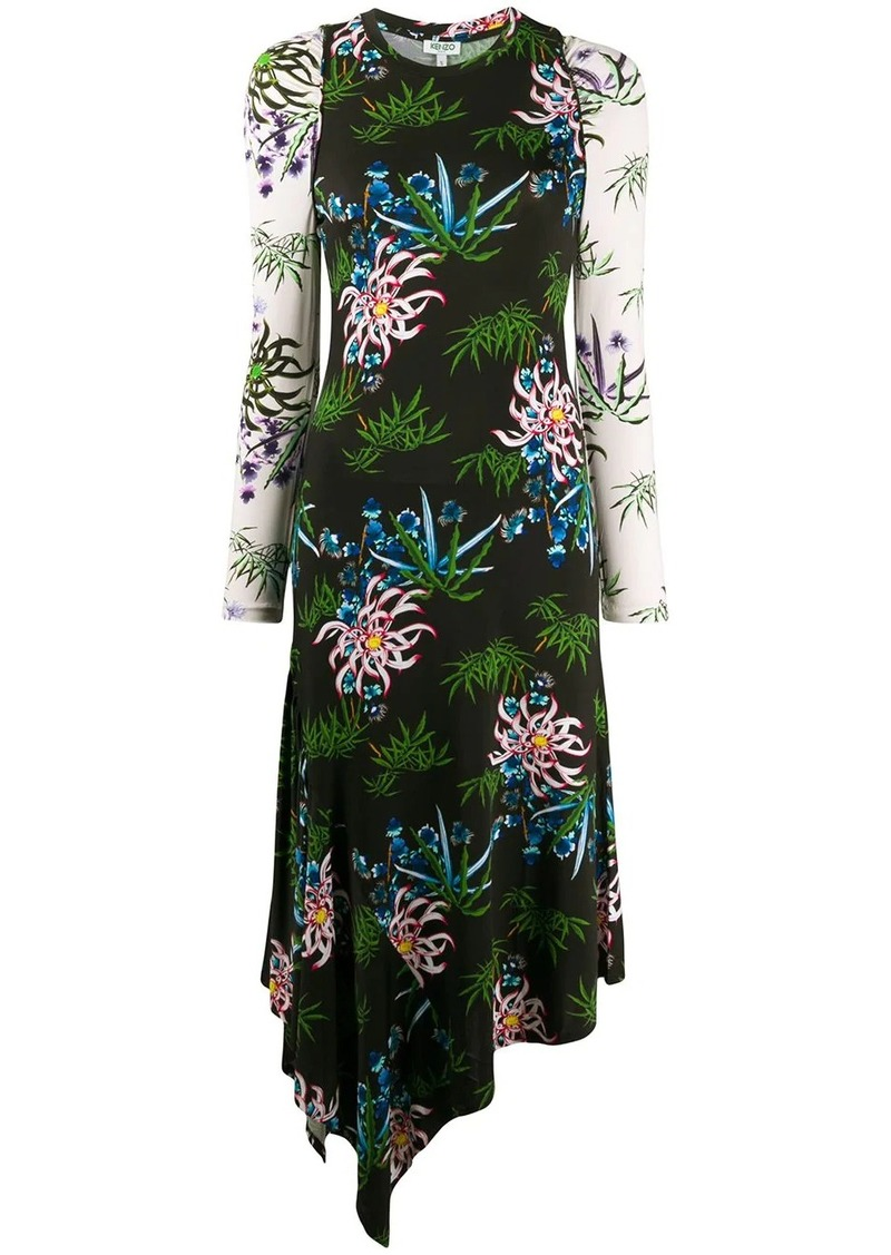 Kenzo Sea Lily' long dress