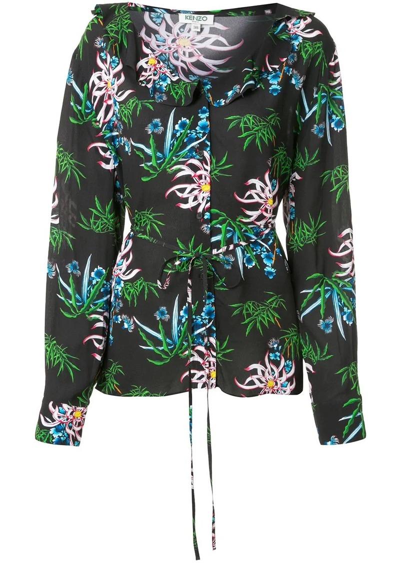 Kenzo Sea Lily-print shirt