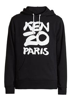 Seasonal Kenzo Paris Drawstring Hoodie