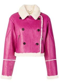 Kenzo shearling lined jacket