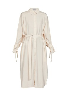 Kenzo Shirting Midi-Length Dress