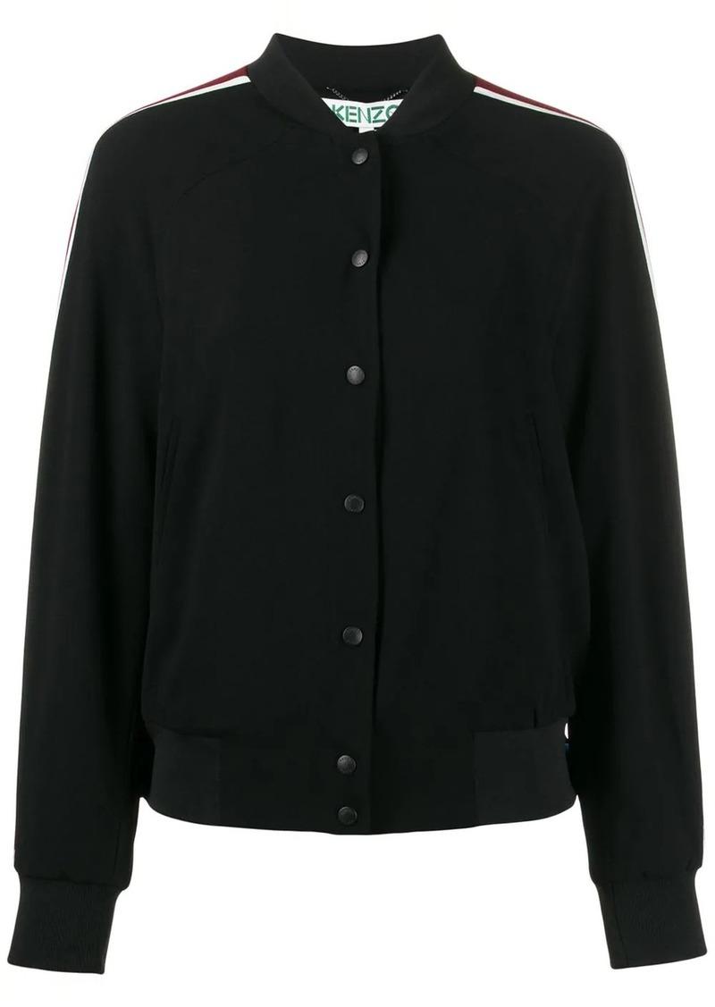 Kenzo side panelled bomber jacket