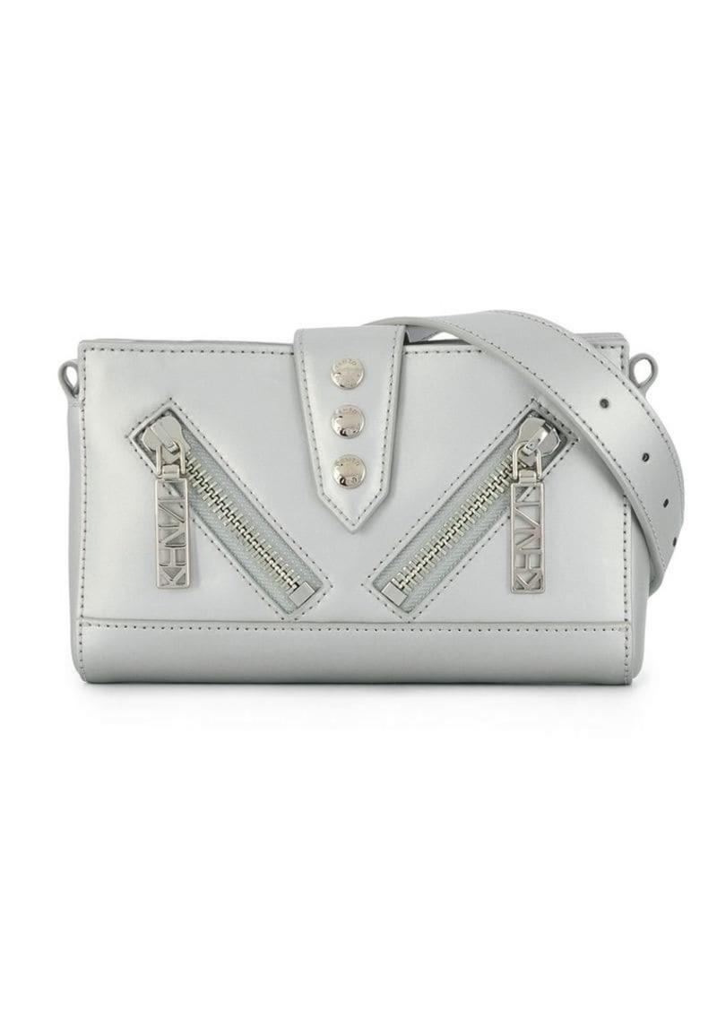 62c252d68 Kenzo silver mini shoulder bag   Handbags