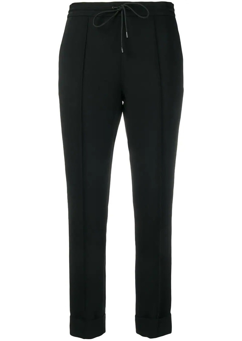 Kenzo slim fit drawstring trousers