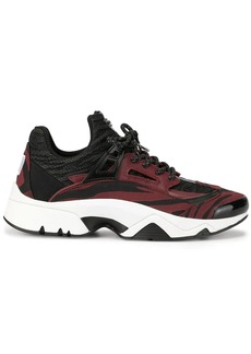 Kenzo Sonic Moire Tiger trainers