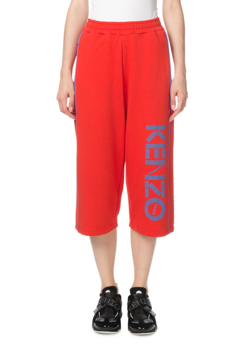 Kenzo Sporty Logo Culotte Sweatpants