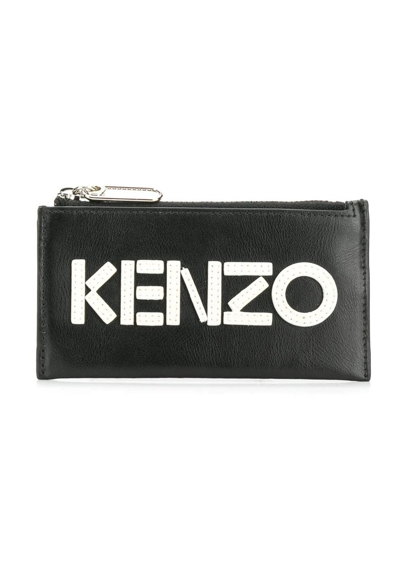 Kenzo stitched logo wallet