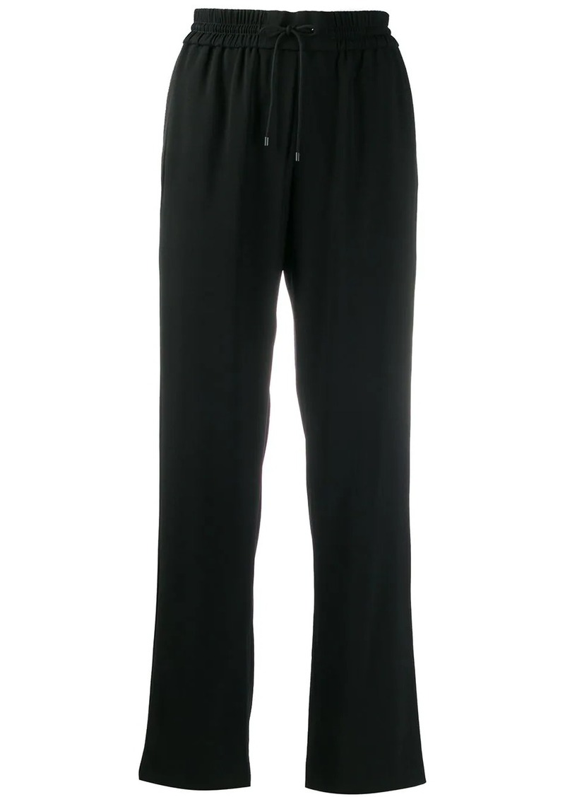Kenzo straight-leg cropped track pants