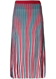 Kenzo striped knitted skirt