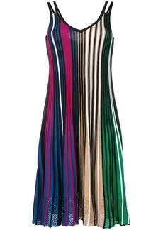 Kenzo striped midi dress