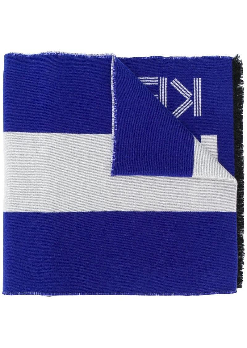 Kenzo striped scarf
