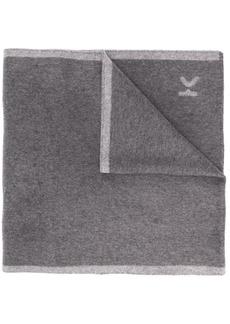 Kenzo striped trim logo scarf