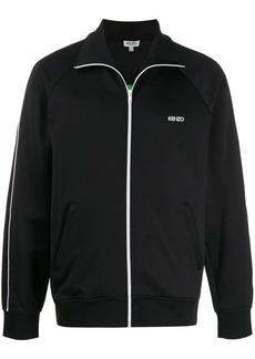 Kenzo tech jersey logo track jacket